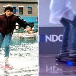 Retour vers le futur II : l'hoverboard existe réellement