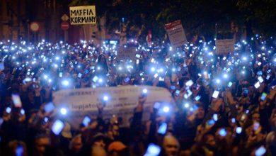 La manifestation de Budapest a réuni près de 10.000 personnes.