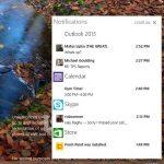 Windows 10 : mise à jour de la Technical Preview. Arrivée du centre de notifications...