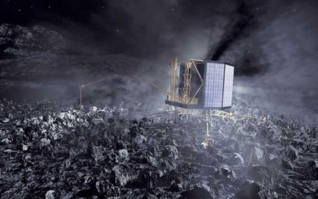 Écoutez le son de l'atterrissage de Philae sur la comète.