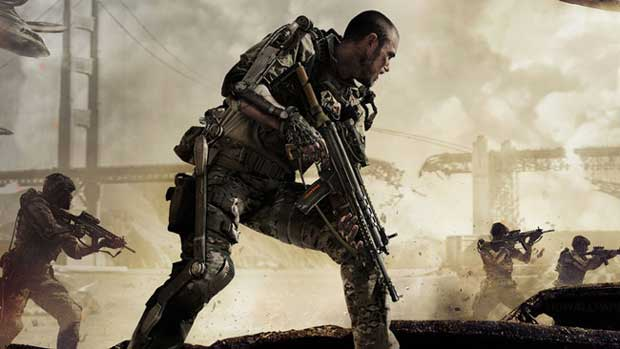 Image du jeu «Call of Duty : Advance Warfare».
