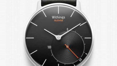 La montre Activité de Withings, «un bijou technologique» français