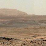 Vue de Mars prise par Curiosity (NASA)