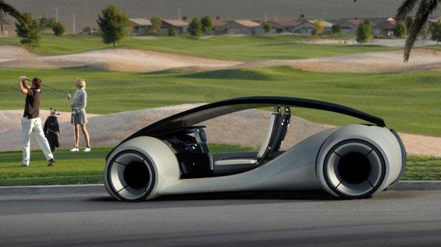 Concept de l'Apple Car imaginé par un internaute.