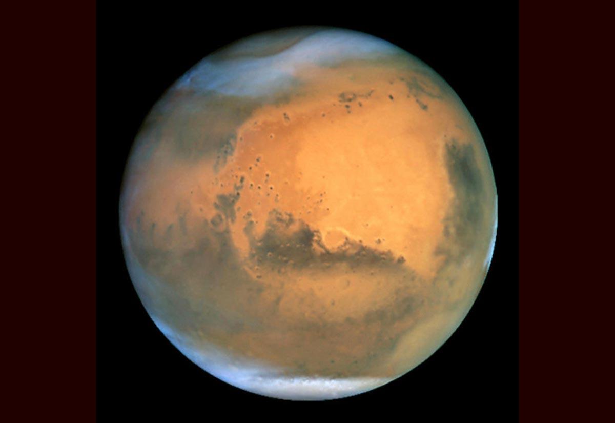 29. Mars vu par Hubble. (Photo : AFP/NASA/ESA/Hubble)