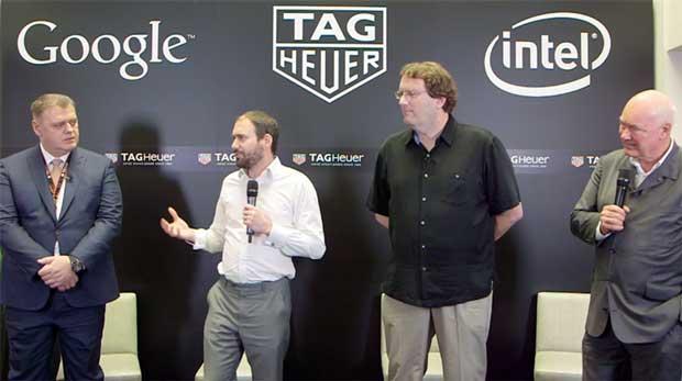 TAG Heuer passe à l'heure du connecté avec Google et Intel