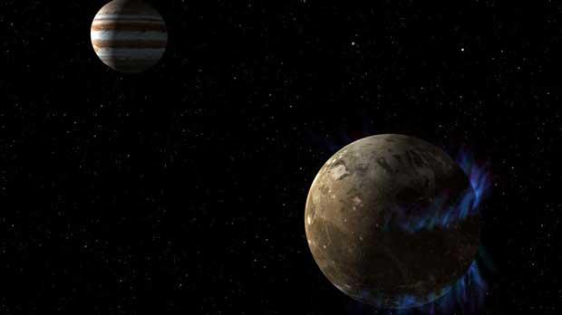 La plus grosse lune de Jupiter a un océan sous sa croûte plus vaste que ceux de la Terre