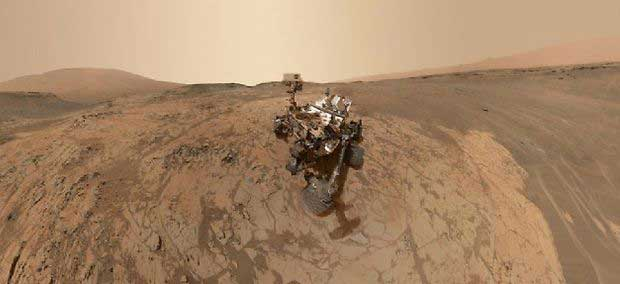 Mars : Curiosity détecte de l'azote disponible pour la vie !