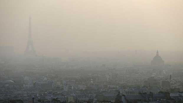 Paris en proie à un nouvel épisode de pollution aux particules
