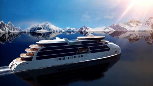 STX France dévoile l'Ulysseas, son navire de croisière pour les voyages d'exploration