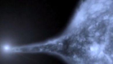 US 708 a été éjectée par une supernova.