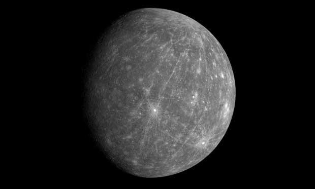 Photo de la planète Mercure.