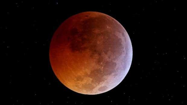 Ne manquez pas l'éclipse lunaire totale samedi