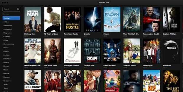 Popcorn Time arrive sur iOS