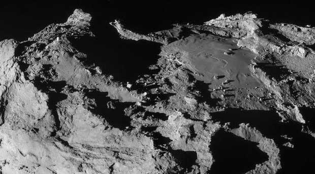 La sonde Rosetta « aveuglée » par la chevelure de sa comète