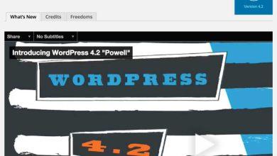 La version 4.2 de WordPress est là. Et vous feriez mieux de mettre à jour votre CMS dès que possible.
