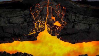 Énorme réservoir magmatique sous un supervolcan