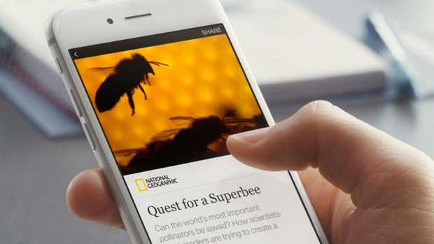 Facebook s'associe avec neuf médias pour délivrer des «articles instantanés» sur mobile