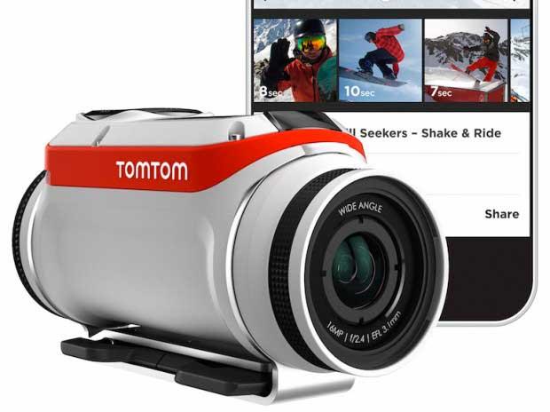 TomTom veut concurrencer GoPro avec une nouvelle caméra tout-terrain