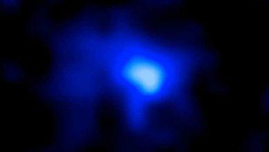 Voici le cliché de la galaxie la plus éloignée de la Terre et donc la plus ancienne observée à ce jour