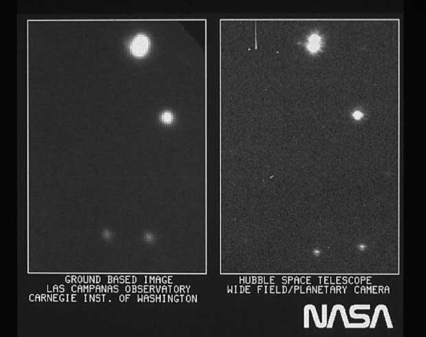 Espace : la première image de Hubble date d'il y a exactement 25 ans