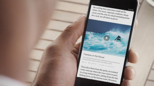 Facebook accueille les éditeurs de presse avec la publicité en toile de fond