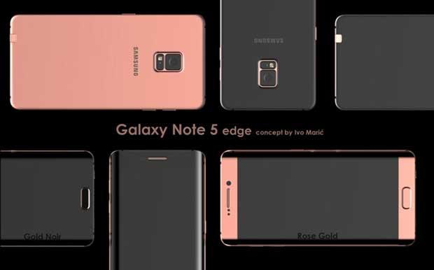 Le Samsung Galaxy Note 5 se décline en version Edge