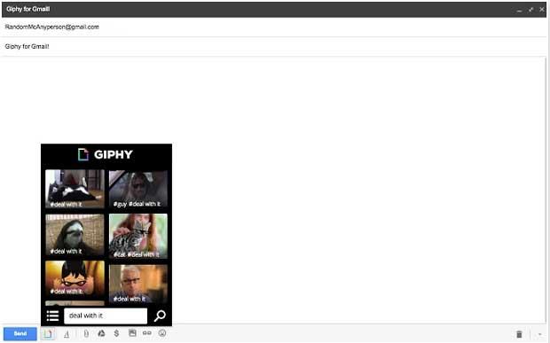 Giphy, l'extension Chrome qui met des Gif animés dans votre Gmail