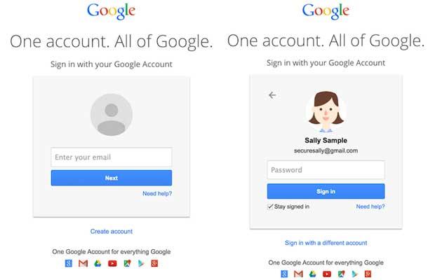 Gmail : une mystérieuse connexion en deux pages