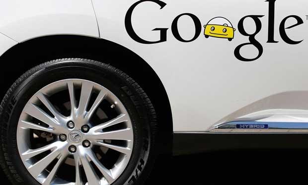 La Google Car sur les routes de Californie cet été