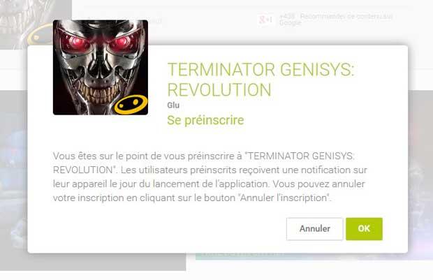 Google Play : préinscrivez-vous pour être averti de la sortie d'une application