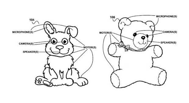 Google voudrait rendre les peluches connectées et intelligentes