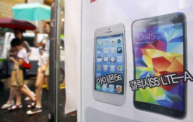 L'amende due à Apple par Samsung devvrait être revue à la baisse