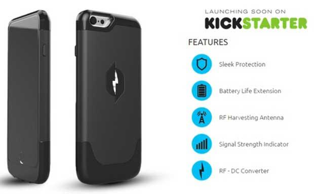 iPhone 6 : une coque qui recharge le téléphone grâce à l'électricité statique