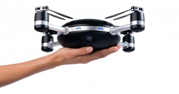 Lily, le drone autonome qui vous suit à la trace