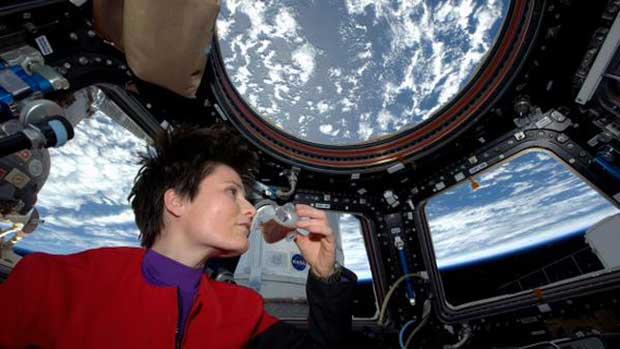 Un premier café expresso dans l'espace !