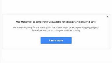 L'outil Google Map Maker suspendu dès aujourd'hui