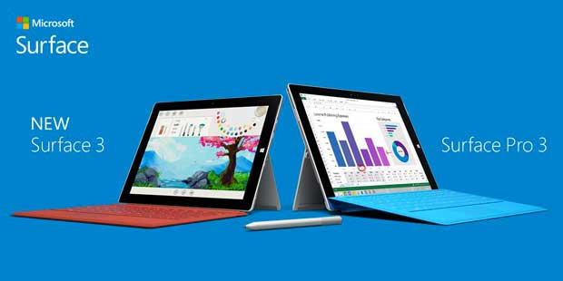 Microsoft lance la tablette Surface 3 en France