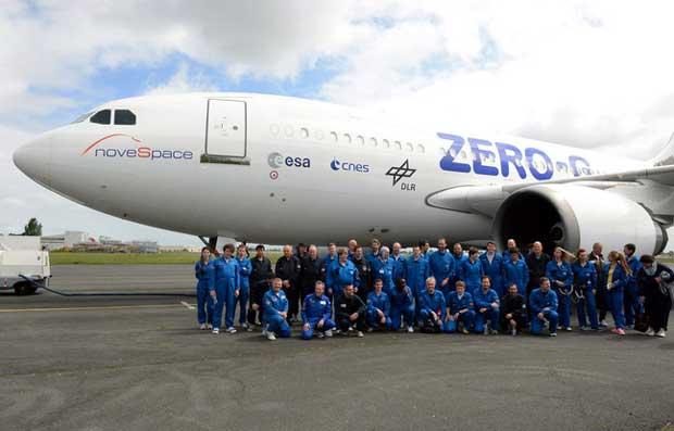 Bordeaux : un nouvel Airbus offre l'accès à l'apesanteur aux chercheurs