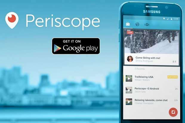 La version Android de Periscope est disponible
