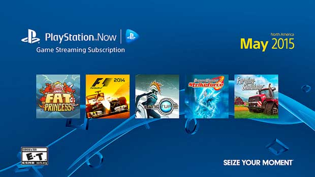 PlayStation Now sur PS3 le 12 mai