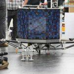 Le sosie du robot Philae s'est posé sur les Champs-Élysées