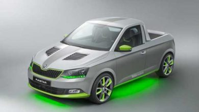 Skoda FUNstar Concept : une version pick-up unique de la Fabia