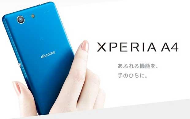 Sony Xperia A4 : le successeur du Xperia Z3 Compact annoncé au Japon