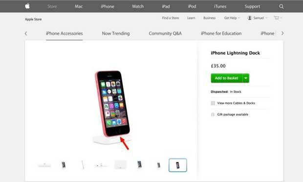 L'image du prochain iPhone 6C aurait fuité sur le site d'Apple