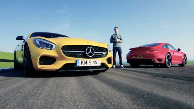Vidéo : Mercedes AMG GT-S VS Porsche 911 Turbo