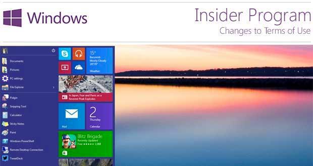 Windows 10, le programme Insider va continuer, Microsoft prépare RedStone