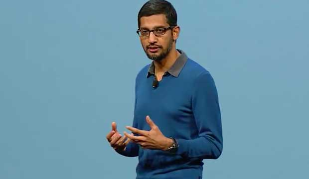 Sundar Pichai, Senior Vice President, Products Google JUSTIN SULLIVAN.