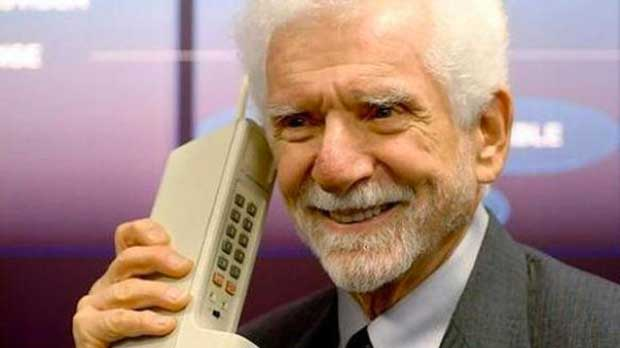 Martin Cooper, inventeur du téléphone portable