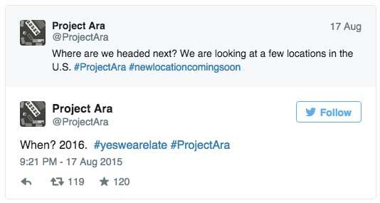 Google-projet-ara-tweet-twitter